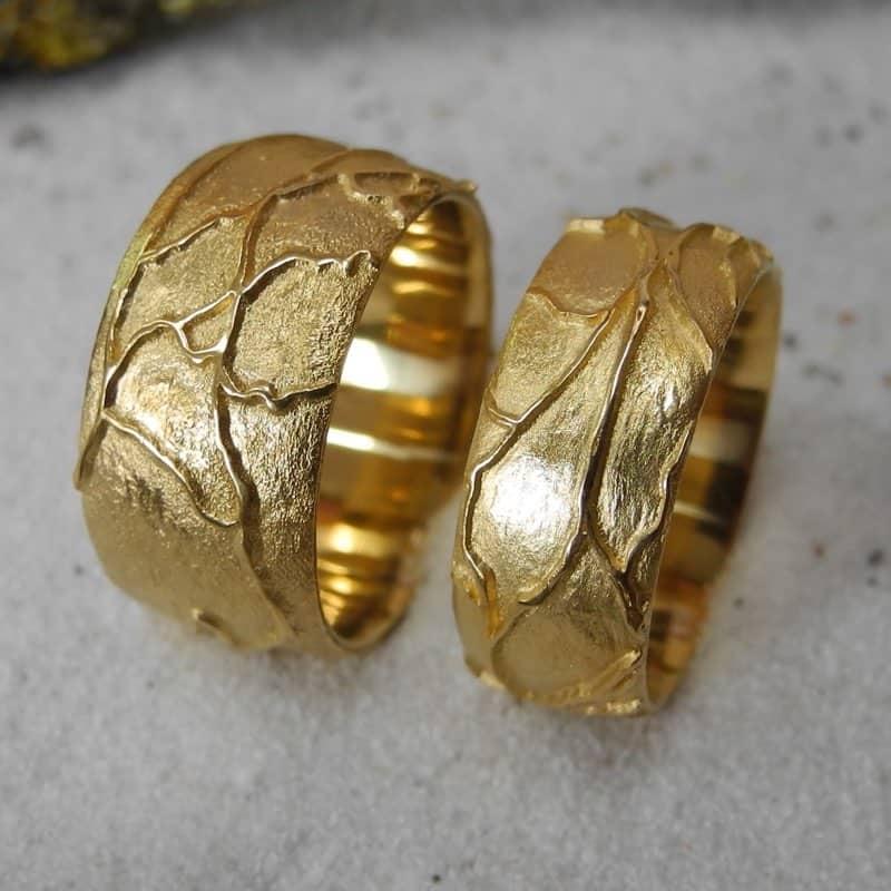 Retina Trauringe 18 karat Gold Goldschmiede Basel