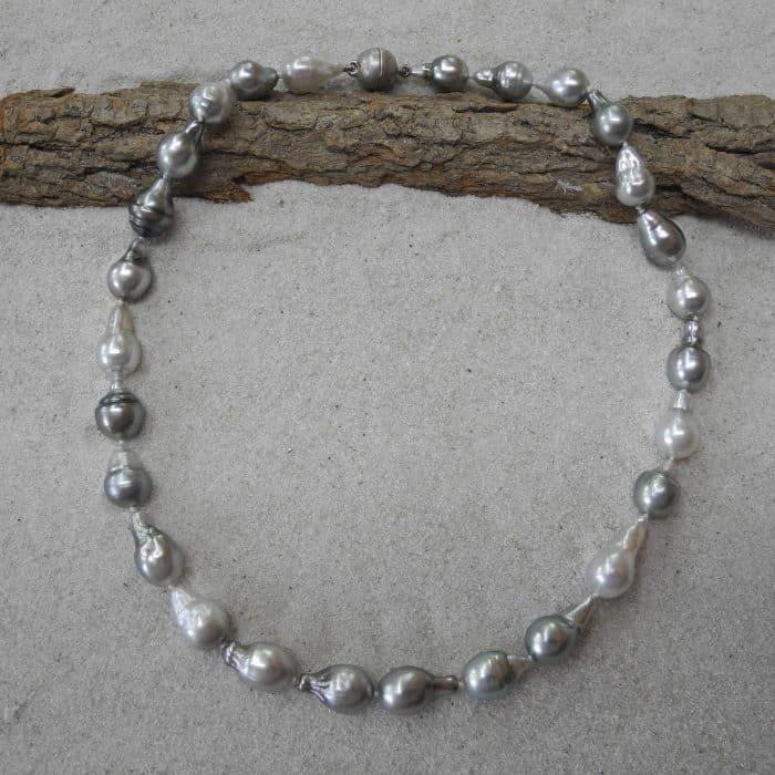 Tahitiperlen-Collier,925-Silber,rhodiniert_Goldschmiede_kleineRheinperle_Basel